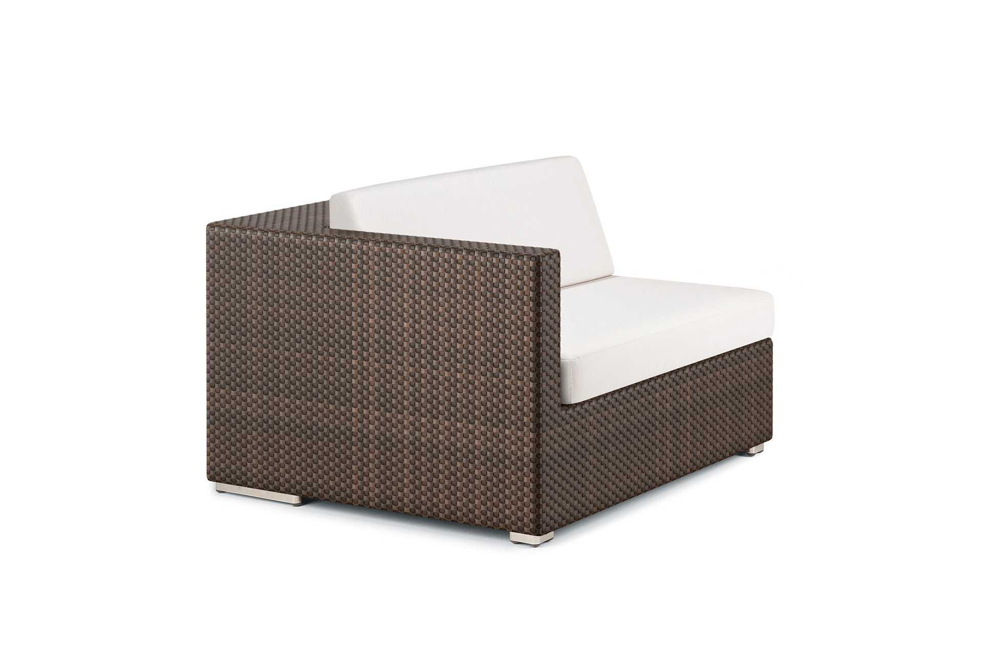 Dedon Lounge Modul Rechts Java Ohne Auflage
