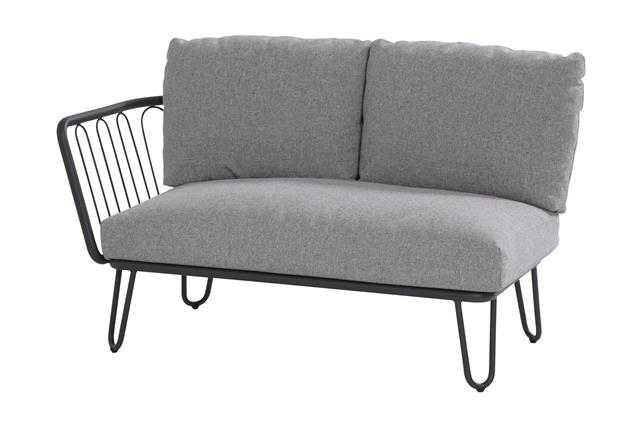 4 seasons premium lounge 2er rechts aluminium inkl kissen ludwig drau en und drinnen wohnen. Black Bedroom Furniture Sets. Home Design Ideas