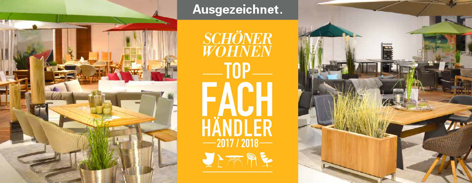 top fachh ndler 2017 2018 sch ner wohnen 2017 news ludwig drau en und drinnen wohnen. Black Bedroom Furniture Sets. Home Design Ideas